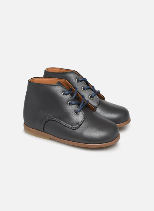 Bottines et boots Patt'touch Désiré Derby Gris vue détail/paire