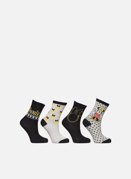 Calze e collant Disney Chaussette Minnie Fil Brillant Lot de 4 Nero vedi dettaglio/paio