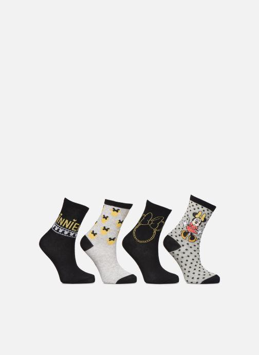 Socks & tights Disney Chaussette Minnie Fil Brillant Lot de 4 Black detailed view/ Pair view
