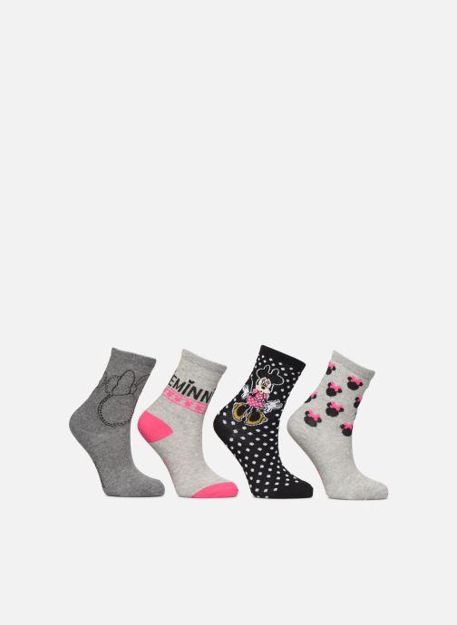 Socken & Strumpfhosen Disney Chaussette Minnie Fil Brillant Lot de 4 grau detaillierte ansicht/modell