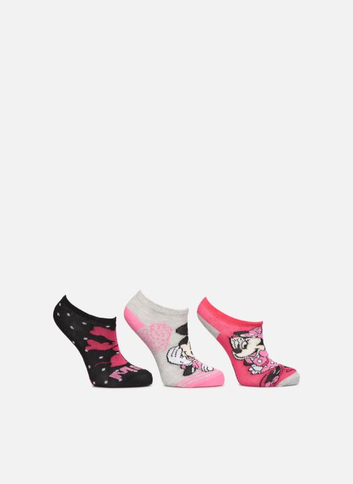 Socken & Strumpfhosen Disney Socquettes Minnie Lot de 3 rosa detaillierte ansicht/modell