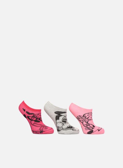 Sokken en panty's Disney Socquettes Minnie Lot de 3 Roze detail