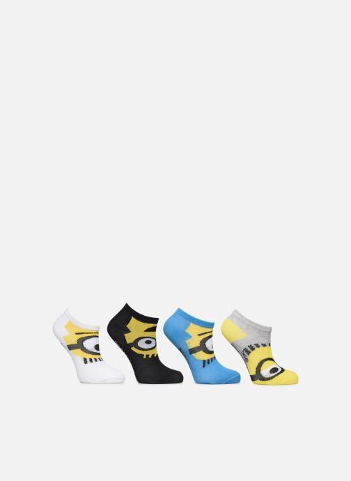 Sokken en panty's Disney Socquettes Minions Lot de 4 Zwart detail
