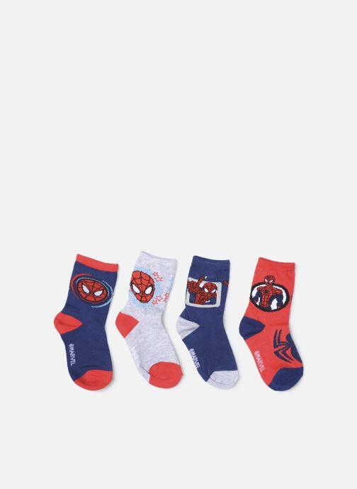 Chaussettes et collants Disney Chaussettes Spider Man Lot de 4 Bleu vue détail/paire