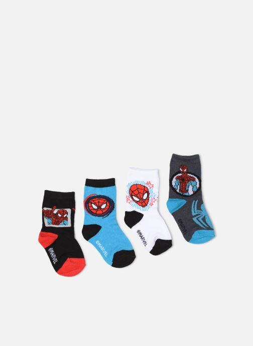 Sokken en panty's Disney Chaussettes Spider Man Lot de 4 Zwart detail