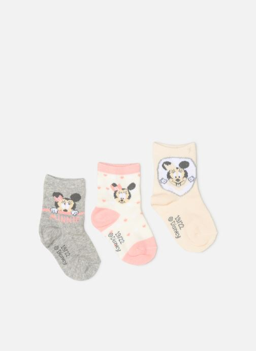 Socks & tights Disney Chaussettes Minnie Lot de 3 Pink detailed view/ Pair view