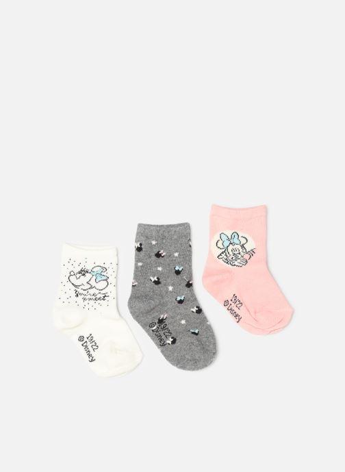 Chaussettes et collants Disney Chaussettes Minnie Lot de 3 Rose vue détail/paire
