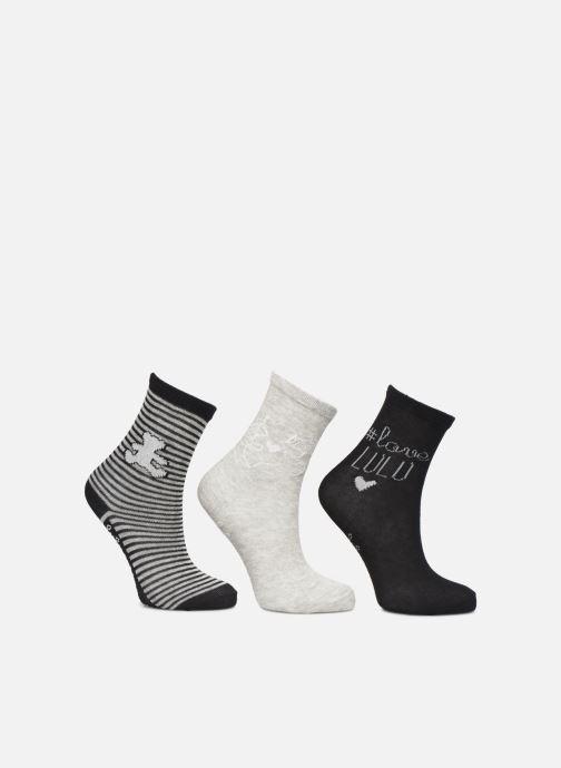 Socks & tights Disney Chaussettes Lulu Castagnette Lot de 3 Black detailed view/ Pair view