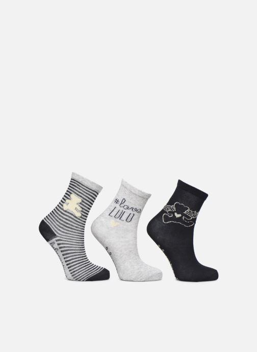 Socks & tights Disney Chaussettes Lulu Castagnette Lot de 3 Blue detailed view/ Pair view