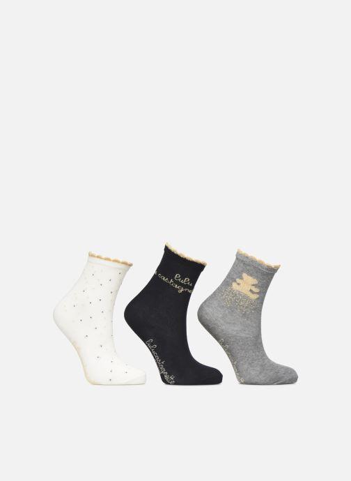 Sokken en panty's Disney Chaussettes Lulu Castagnette Lot de 3 Grijs detail