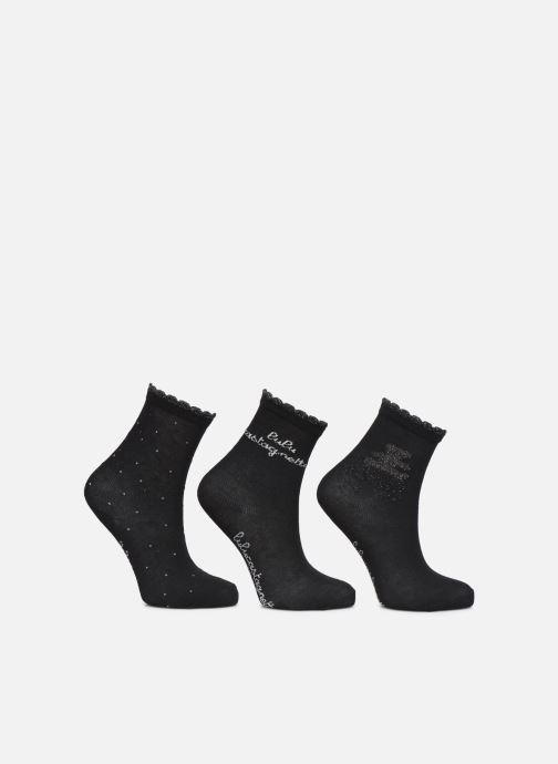 Sokken en panty's Disney Chaussettes Lulu Castagnette Lot de 3 Zwart detail
