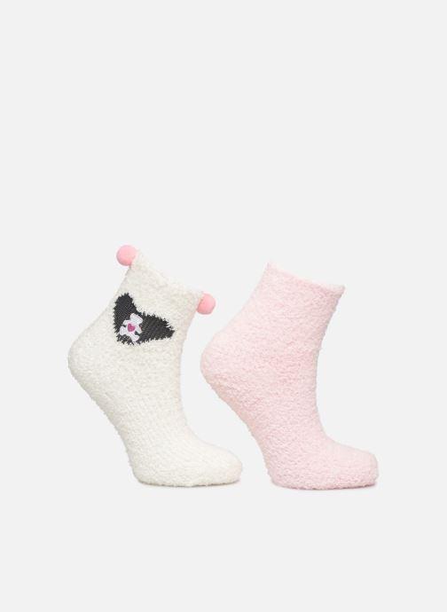Sokken en panty's Disney Chaussettes intérieur Lulu Castagnette Lot de 2 Roze detail