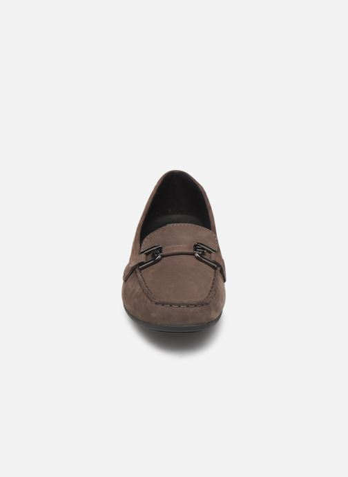 Loafers Geox D ANNYTAH MOC Brown model view