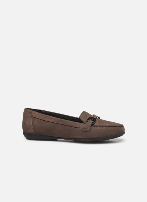 Loafers Geox D ANNYTAH MOC Brown back view