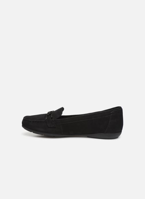 Loafers Geox D ANNYTAH MOC Black front view