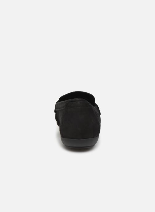 Loafers Geox D ANNYTAH MOC Black view from the right