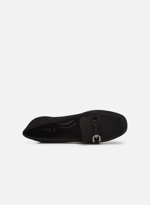 Loafers Geox D ANNYTAH MOC Black view from the left