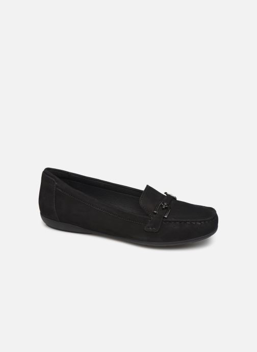 Loafers Geox D ANNYTAH MOC Black detailed view/ Pair view