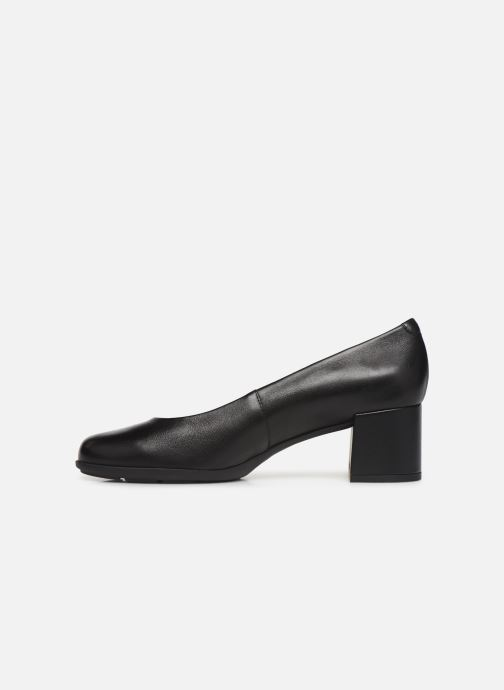 High heels Geox D NEW ANNYA MID Black front view