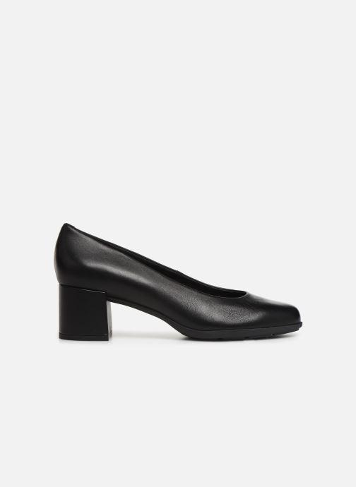 High heels Geox D NEW ANNYA MID Black back view