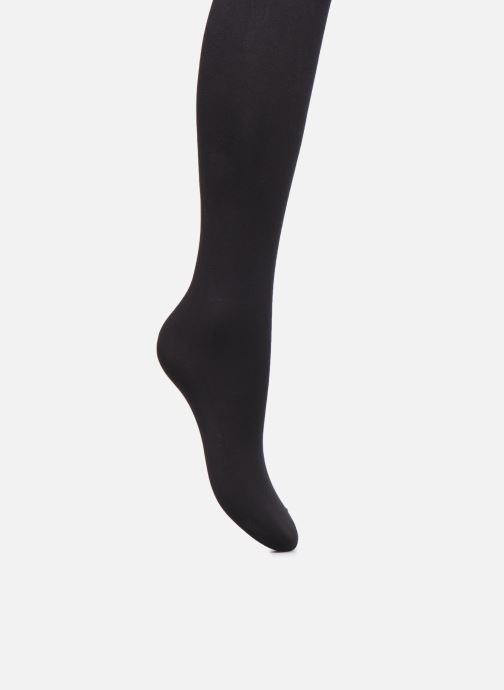 Chaussettes et collants Dim Collant OPAQUE SENSATIONNEL 70D Noir vue portées chaussures