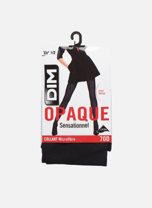 Chaussettes et collants Dim Collant OPAQUE SENSATIONNEL 70D Noir vue détail/paire