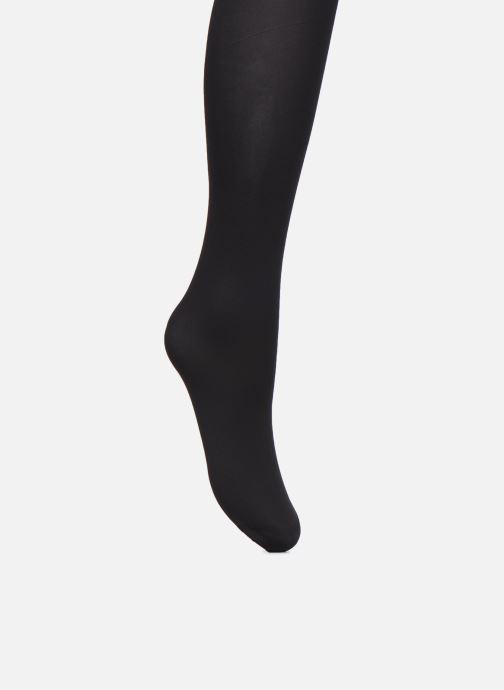 Chaussettes et collants Dim Collant OPAQUE VELOUTE 50D Noir vue portées chaussures
