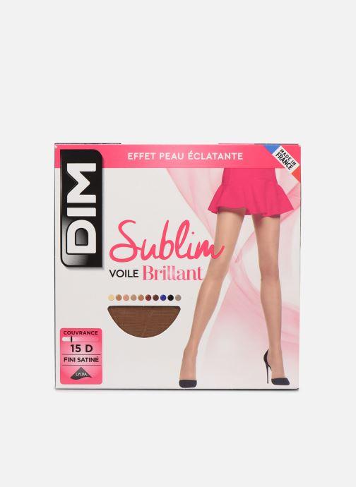 Chaussettes et collants Dim Collant SUBLIM VOILE BRILLANT 15D Beige vue détail/paire