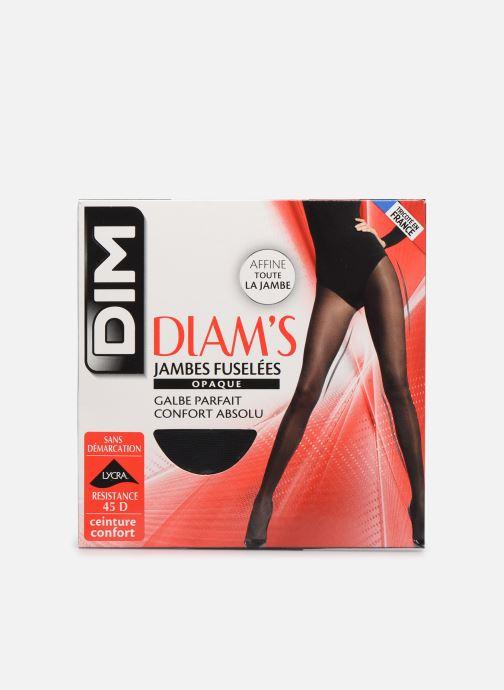 Chaussettes et collants Dim Collant DIAM'S JAMBES FUSELEES Opaque Satiné 45D Noir vue détail/paire