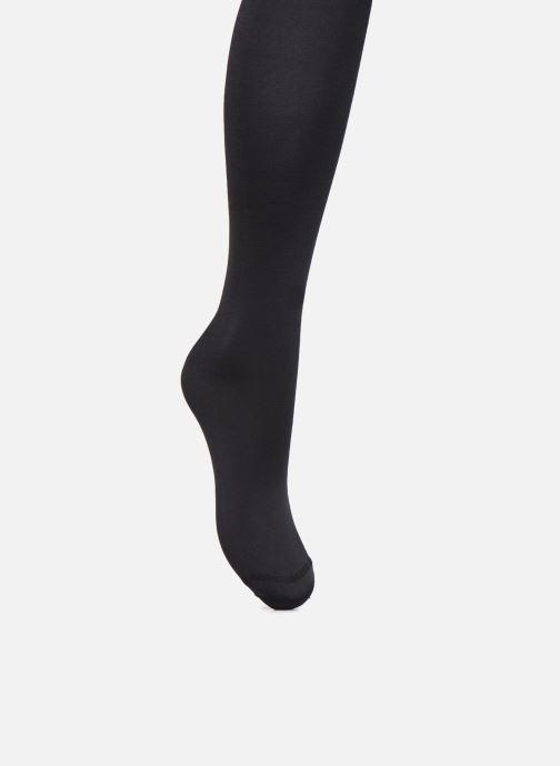 Chaussettes et collants Dim Collant DIAM'S VENTRE PLAT Ultra opaque 70D Noir vue portées chaussures