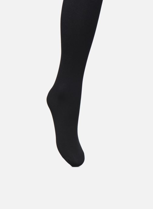 Chaussettes et collants Dim Collant THERMO POLAIRE 143D Noir vue portées chaussures