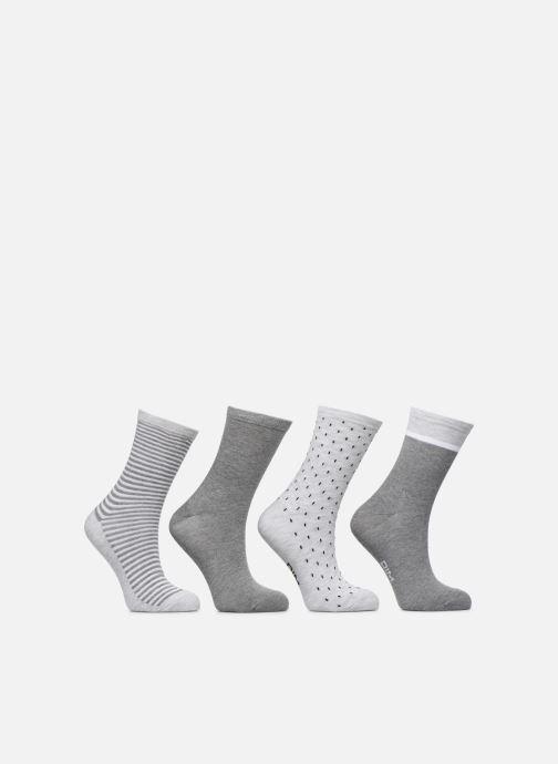 Socks & tights Dim Chaussettes ECODIM STYLE Lot de 4 Grey model view
