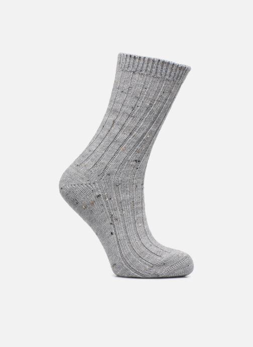 Chaussettes et collants Dim Chaussettes Effet Tweed Moucheté Gris vue portées chaussures