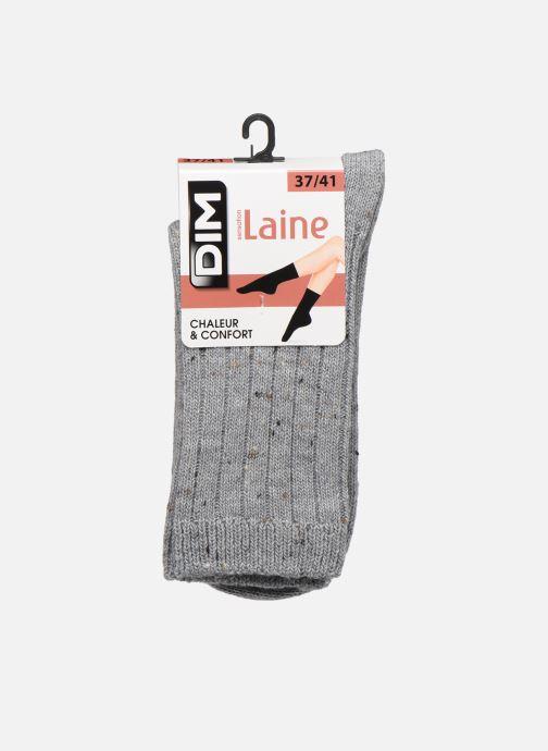 Socks & tights Dim Chaussettes Effet Tweed Moucheté Grey detailed view/ Pair view