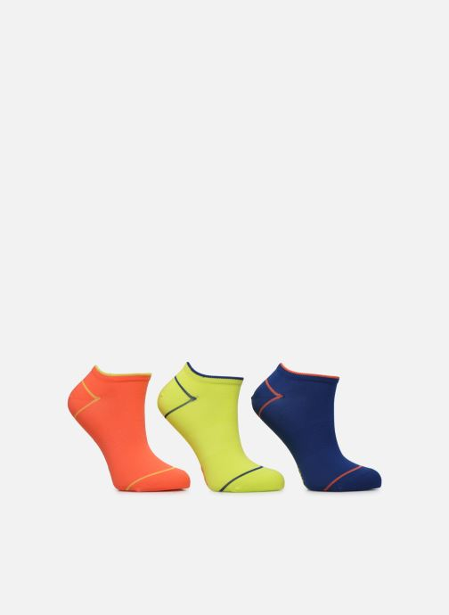 Socks & tights Dim Socquettes Courtes IMPACT LEGER Lot de 3 Multicolor model view