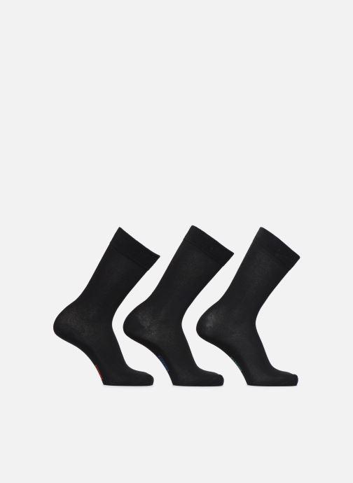 Chaussettes et collants Dim Chaussettes COTON Lot de 3 Noir vue détail/paire
