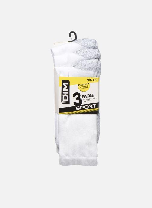Chaussettes et collants Dim Chaussettes ECODIM SPORT Lot de 3 Blanc vue détail/paire