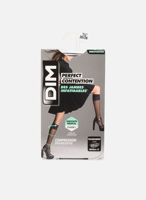 Socks & tights Dim Mi-bas PERFECT CONTENTION Transparents 25D Black detailed view/ Pair view