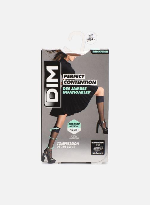 Chaussettes et collants Dim Mi-bas PERFECT CONTENTION Transparents 25D Beige vue détail/paire