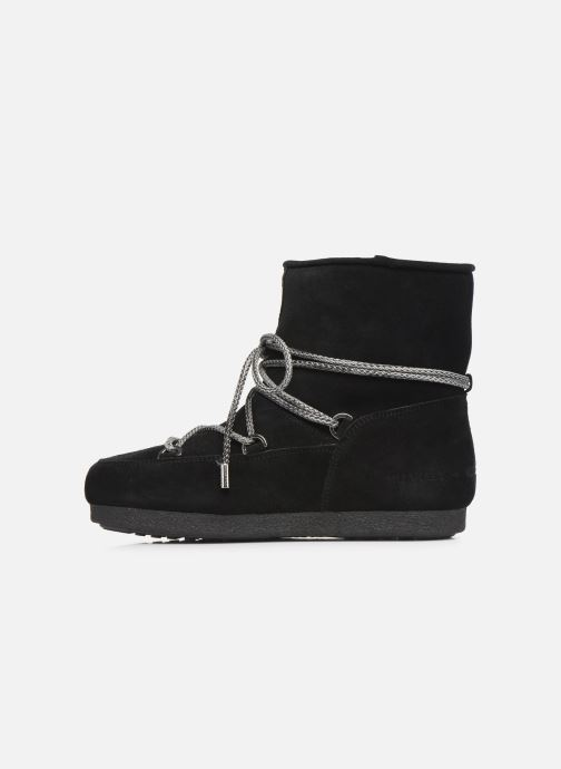 Scarpe sportive Moon Boot Moon Boot Far Side Low Suede Nero immagine frontale
