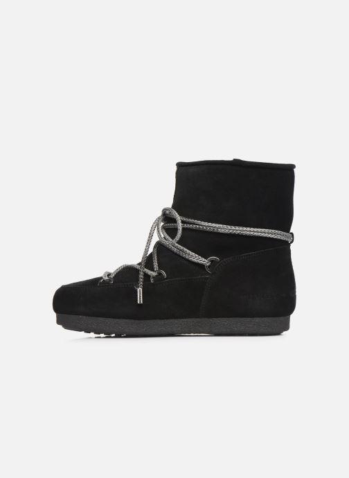 Zapatillas de deporte Moon Boot Moon Boot Far Side Low Suede Negro vista de frente