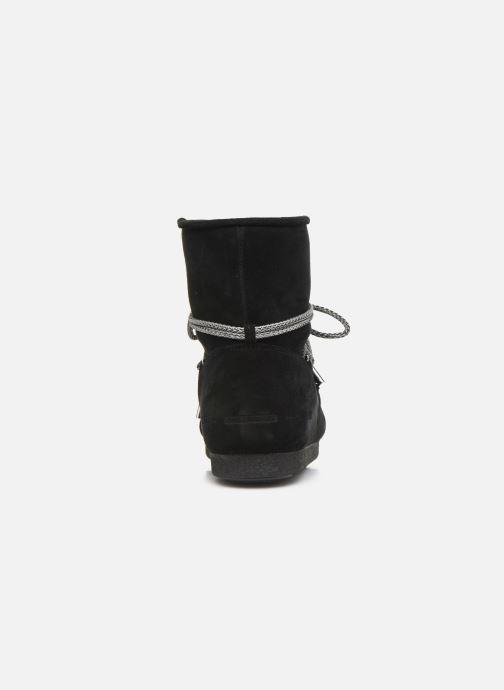 Zapatillas de deporte Moon Boot Moon Boot Far Side Low Suede Negro vista lateral derecha
