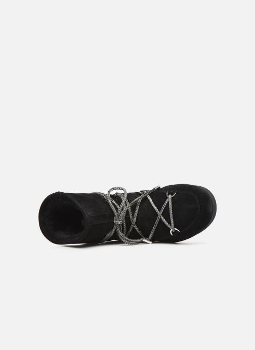 Zapatillas de deporte Moon Boot Moon Boot Far Side Low Suede Negro vista lateral izquierda