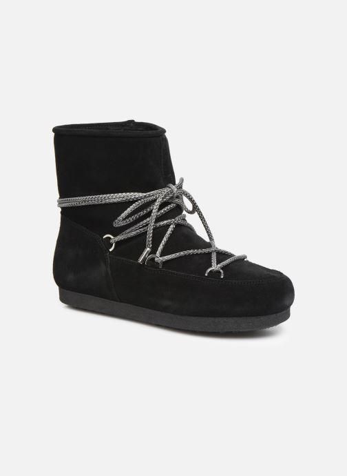 Chaussures de sport Moon Boot Moon Boot Far Side Low Suede Noir vue détail/paire