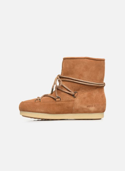 Chaussures de sport Moon Boot Moon Boot Far Side Low Suede Marron vue face