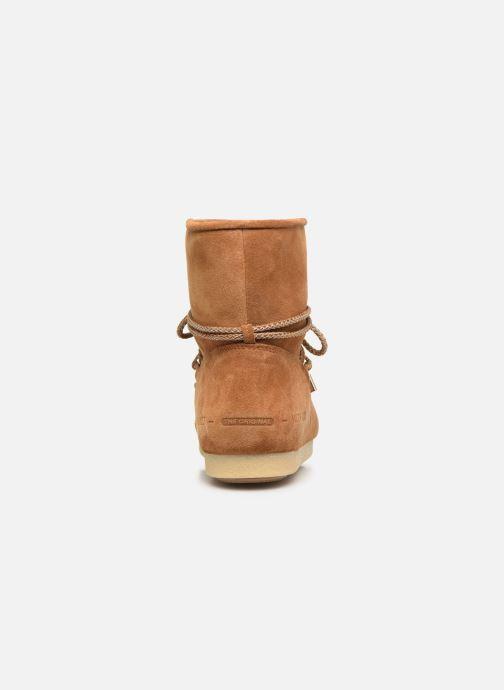 Chaussures de sport Moon Boot Moon Boot Far Side Low Suede Marron vue droite