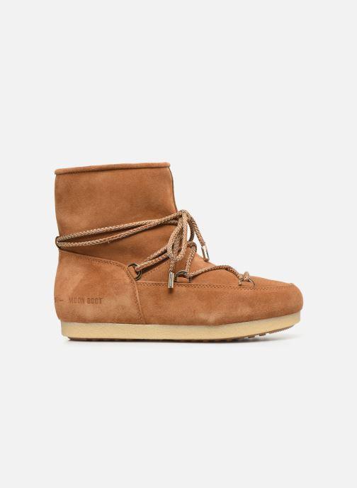 Chaussures de sport Moon Boot Moon Boot Far Side Low Suede Marron vue derrière