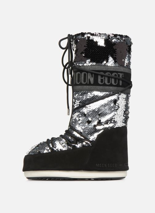 Zapatillas de deporte Moon Boot Moont Boot Classic Disco Negro vista de frente
