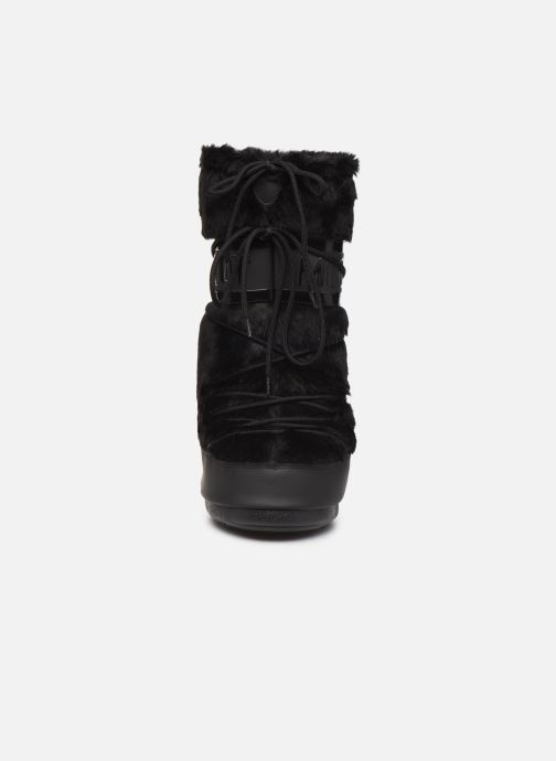 Sport shoes Moon Boot Moon Boot Classic Faux Fur Black model view