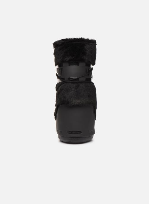 Sport shoes Moon Boot Moon Boot Classic Faux Fur Black view from the right